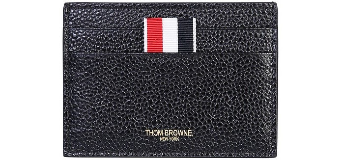 Card Holder With Logo - Thom Browne