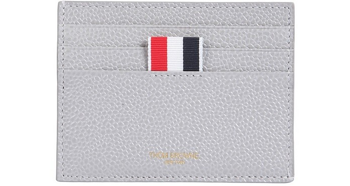 Leather Card Holder - Thom Browne