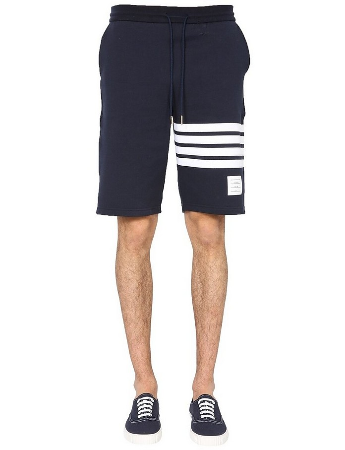 Cotton Shorts - Thom Browne