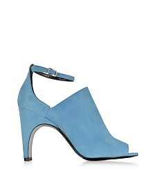 Blue Suede High Heel Sandals - Pierre Hardy