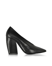 Paloma Black Leather Pump - Pierre Hardy