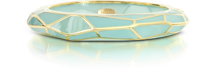 Louvre Gold-plated Resin Cuff - Isharya