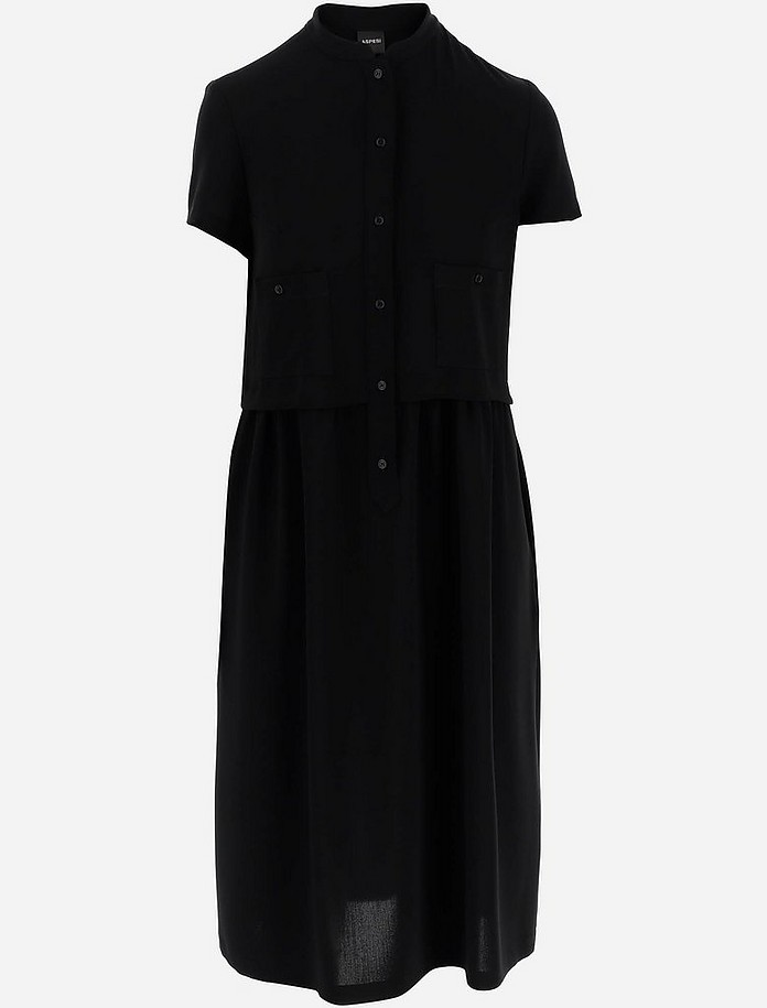 Women's Kneelenght_Dress - Aspesi