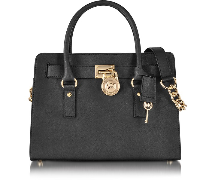 Hamilton Saffiano Leather EW Satchel - Michael Kors