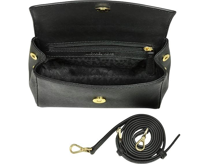 916e72e6fb13 ... canada ava black saffiano leather xs crossbody bag michael kors.  au152.60 au217.