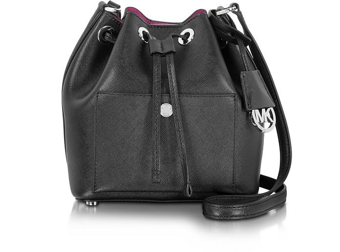 Greenwich Saffiano Leather Small Bucket Bag - Michael Kors