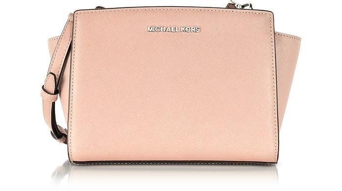 Selma Saffiano Leather Medium Messenger Bag - Michael Kors