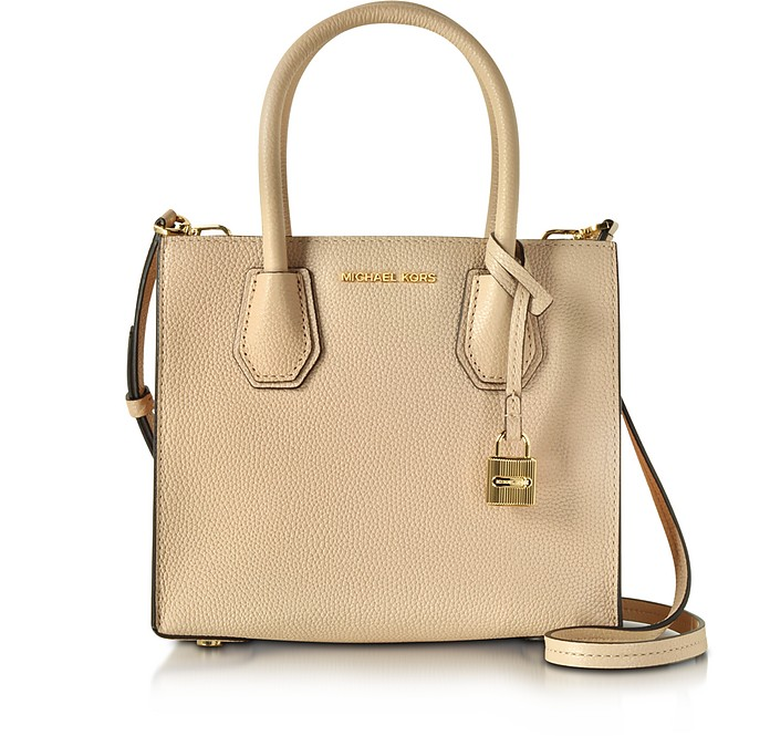 Mercer Medium Leather Crossbody - Michael Kors
