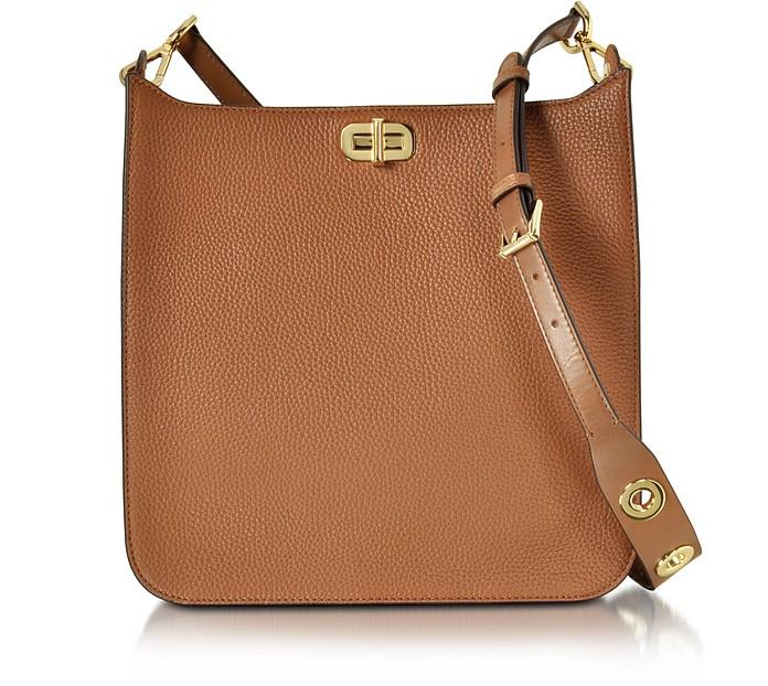 033b00f67f57 Michael Kors Luggage Sullivan Large NS Leather Messenger Bag at ...