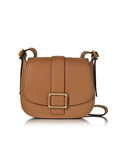 Maxine Large Luggage Leather Saddle Bag - Michael Kors