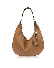 Lydia Acorn  Pebbled Leather Hobo Bag - Michael Kors