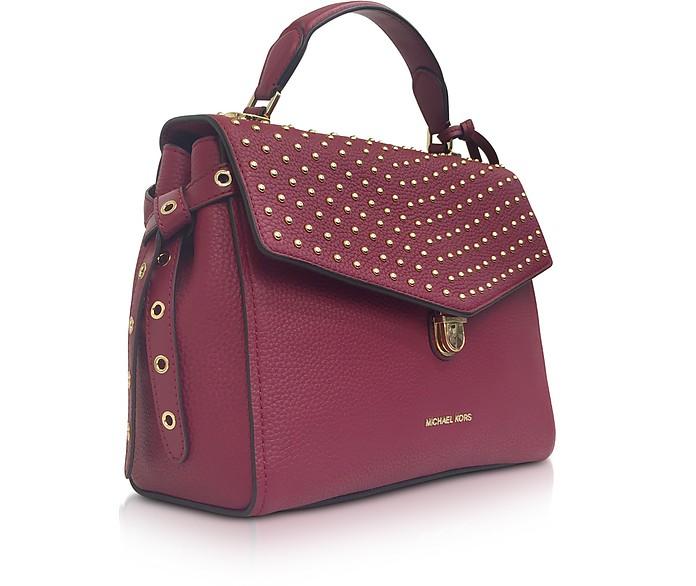 cc999e4863ed5 Bristol Mulberry Studded Leather Top Handle Satchel Bag - Michael Kors.  AU 309.00 AU 515.00 Actual transaction amount