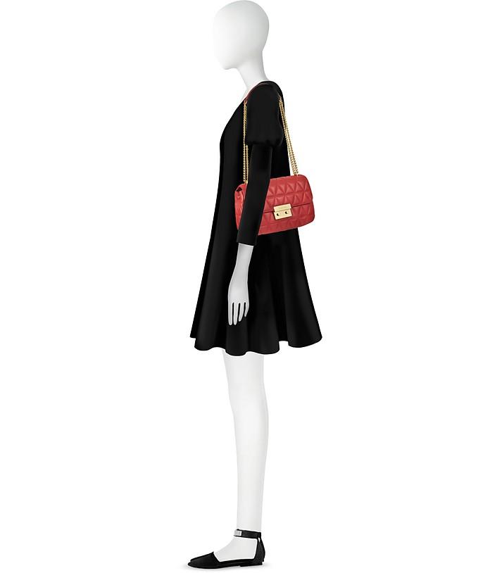 df2a268d3ca65 Bright Red Sloan Large Quilted-Leather Shoulder Bag - Michael Kors. kr  2