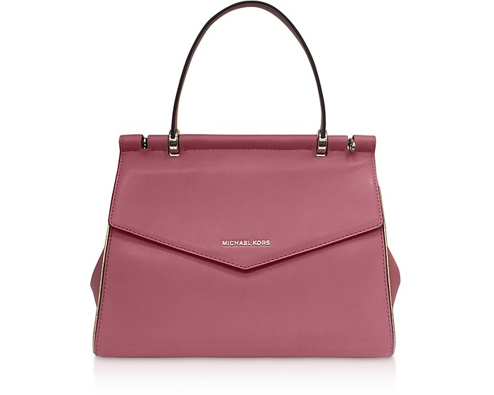 Rose Jasmine Medium Top-Handle Satchel Bag - Michael Kors
