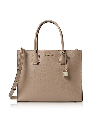 e07890cf6780d3 Truffle Mercer Large Convertible Tote Bag - Michael Kors