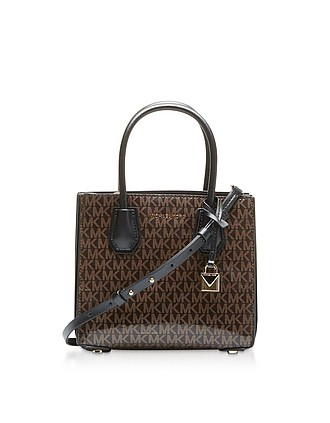 5c645a9c891910 Monogram Mercer Medium Messenger Bag - Michael Kors