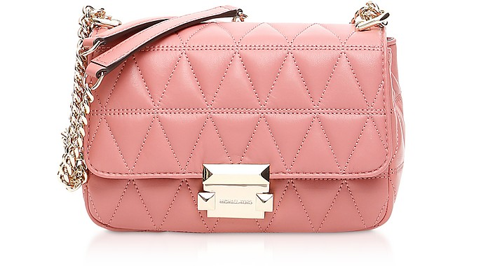 Sloan Small Quilted-Leather Shoulder Bag - Michael Kors