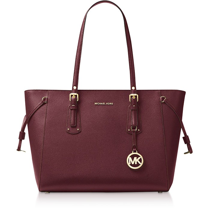 Voyager Medium Top-Zip Tote Bag - Michael Kors