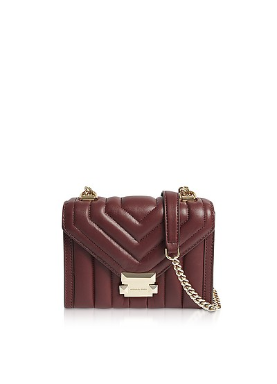 Whitney Small Quilted Leather Convertible Shoulder Bag - Michael Kors