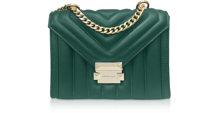 Whitney Small Quilted Leather Convertible Shoulder Bag - Michael Kors / マイケル コース
