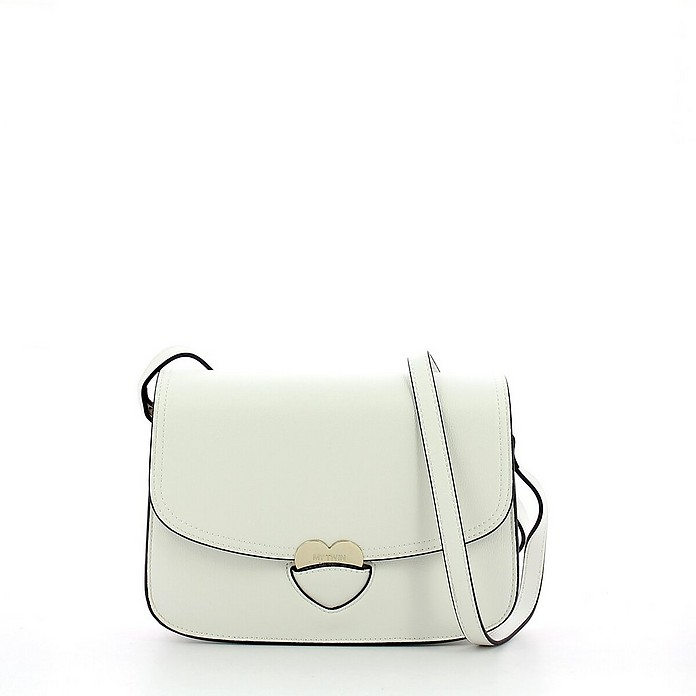 White Heart Shoulder Bag - My Twin