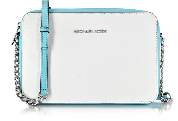 White Large Chain Shoulder Tote | Michael Kors | Väskor