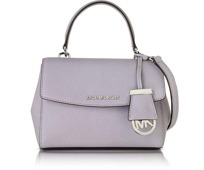 0f5a8b3277f Michael Kors Lilac Ava Extra Small Saffiano Leather Crossbody Bag at ...