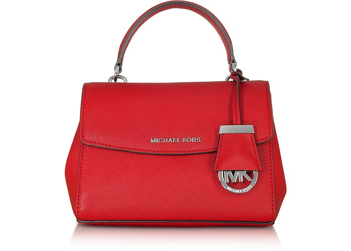 41ecbe3022a4 Michael Kors Ava Bright Red Saffiano Leather XS Crossbody Bag at ...
