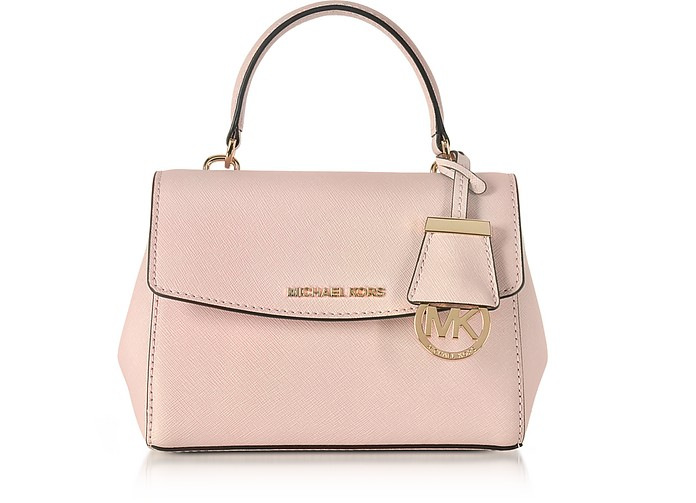 17823a1a4b73 Michael Kors Ava Soft Pink Saffiano Leather XS Crossbody Bag at ...