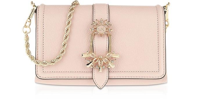 Pink Crossbody Bag w/ Padlock Chain - Michael Kors