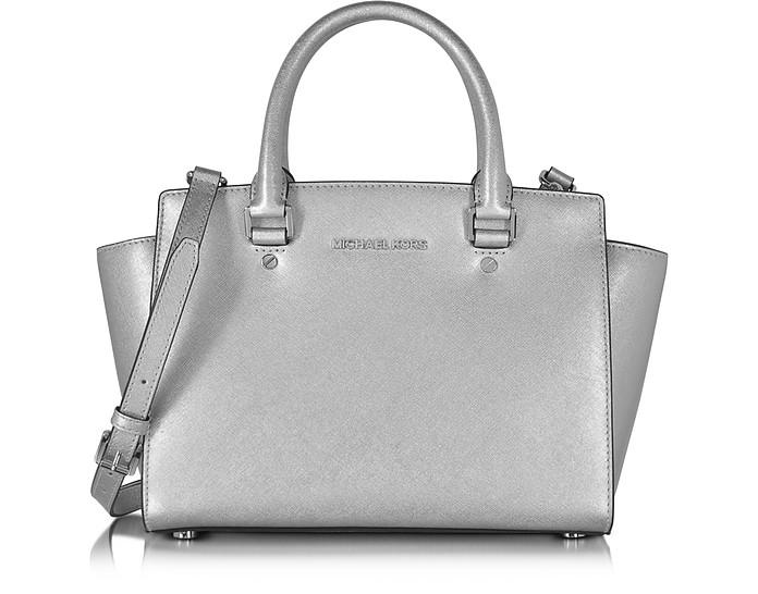 Selma Saffiano Leather Medium Satchel Bag - Michael Kors / マイケル コース