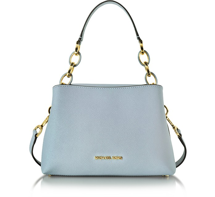 be82a765b516 Michael Kors Portia Small EW Saffiano Leather Shoulder Bag at ...