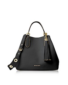 Brooklyn Large Borsa in Pelle Nera con Tracolla Rimovibile - Michael Kors
