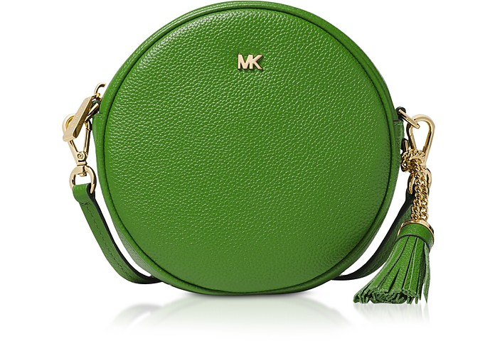 Pebbled Leather Canteen Crossbody - Michael Kors