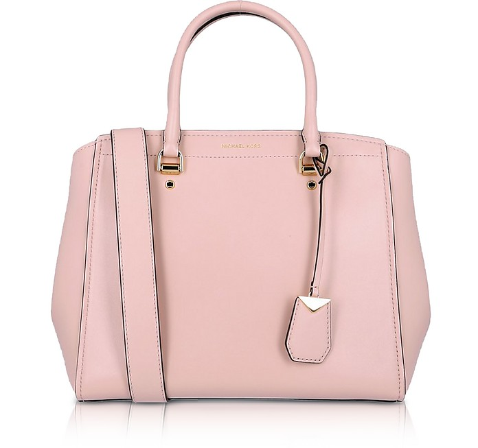 Soft Polished leather Benning Large Satchel Bag - Michael Kors