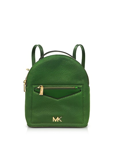 f0fb79ee4a29 Michael Kors Bright Green Jessa Small Pebbled Leather Convertible Backpack  at FORZIERI UK
