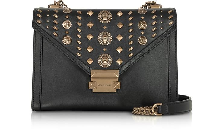 9eff82e4e926 Whitney Large Embellished Convertible Leather Shoulder Bag - Michael Kors