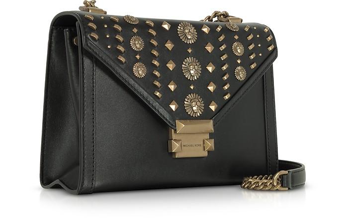 08d2c1575881 Whitney Large Embellished Convertible Leather Shoulder Bag - Michael Kors.  €346,00 Actual transaction amount
