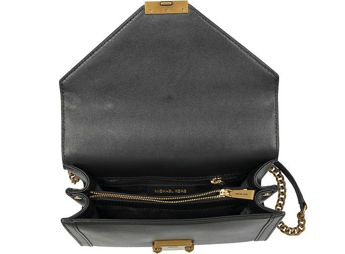 4133affbd639 Whitney Large Embellished Convertible Leather Shoulder Bag - Michael Kors. € 346