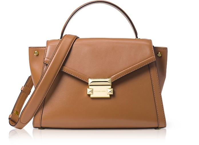 Whitney Medium Leather Satchel - Michael Kors