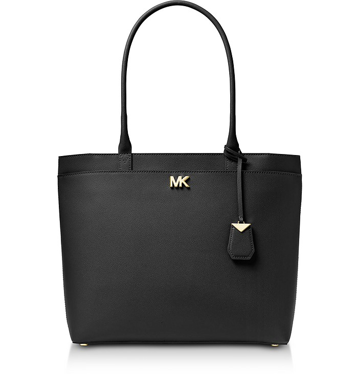 Maddie Large Crossgrain Leather Tote - Michael Kors
