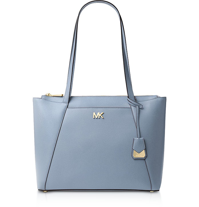 Maddie Medium Crossgrain Leather Tote - Michael Kors
