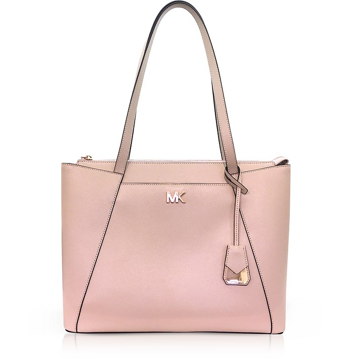 eef06786c9 Maddie Medium Shopping Bag in Pelle Rosa