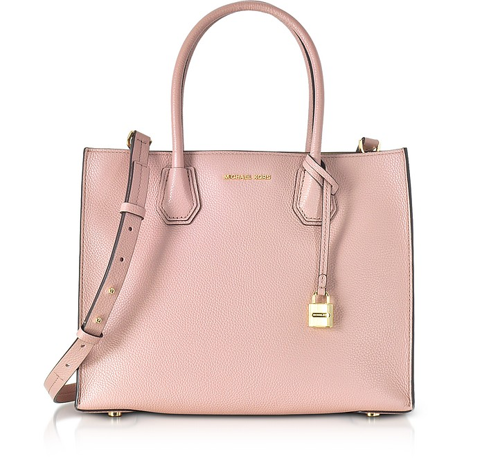 Mercer Large Leather Tote - Michael Kors