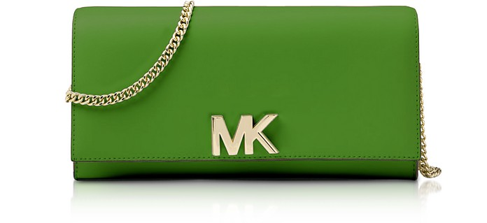 Mott Leather Chain Wallet - Michael Kors
