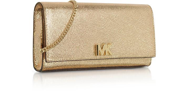 1931eb0ac6ed Mott Metallic Leather Chain Wallet - Michael Kors. C 201.25 C 402.50 Actual  transaction amount