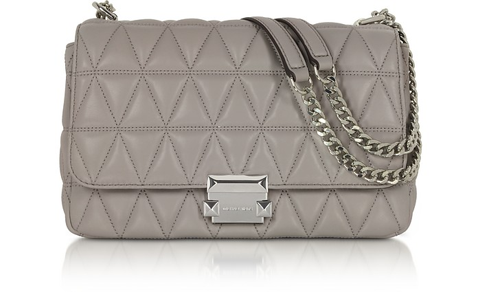 Sloan Large Quilted-Leather Shoulder Bag - Michael Kors