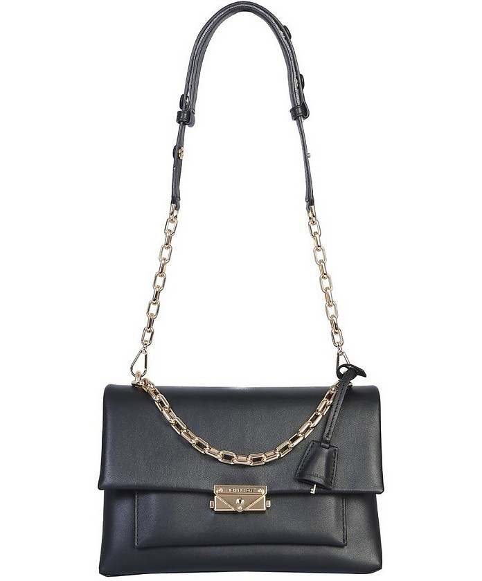 Large Black Leather Cece Bag - Michael Kors / マイケル コース
