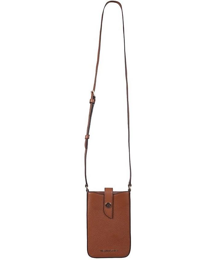 Smartphone Shoulder Bag With Logo - Michael Kors
