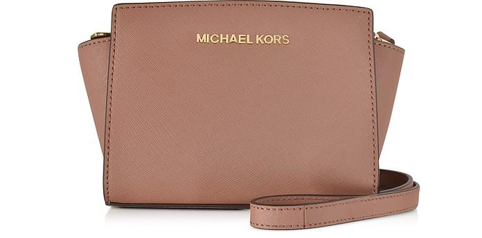 Selma Saffiano Leather Mini Messenger Bag - Michael Kors